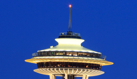 Space Needle at Washington
