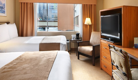 Travelodge Seattle by The Space Needle Two Queen Bed Room, Washington
